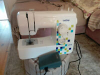 Sewing Machine - Brother LS14 - Full working order complete with power cord & foot pedal