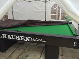 Olhausen slate bed professional pool table 9 ft