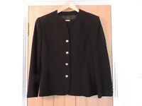 A Ladies Black Jacket from Marks & Spencer UK14