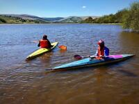 2 x kayaks and trailer for sale