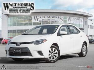 2016 Toyota Corolla LE: ACCIDENT FREE ONE OWNER MANITOBA VEHICLE