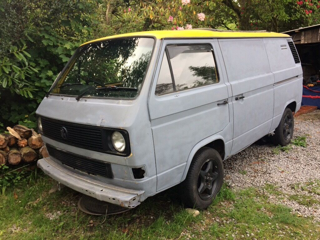 vw t25 transporter t3 bus camper in neath neath port talbot gumtree. Black Bedroom Furniture Sets. Home Design Ideas
