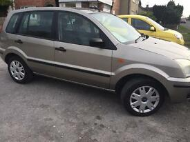 Ford Fusion 1.4 54 plate