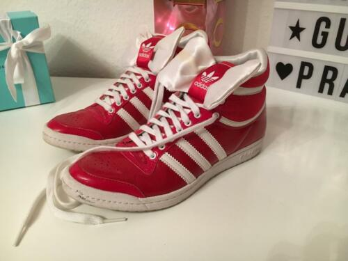 Adidas Sleek Sneaker rot Lack Schleife 36 2/3 RAR Limited Edition