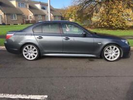 BMW 520d M sport 2009 auto fsh ( not audi 3.0 a4 a6 320d 330d 530d diesel VW passat ) memory bixenon