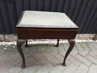 Wooden Piano Stool with Storage *PROJECT*