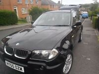 BMW X3 2LTR diesel in fantastic condition