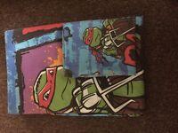 Teenage Mutant Ninja Turtles single duvet cover set
