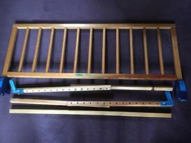 Wooden Mothercare Bed Guard