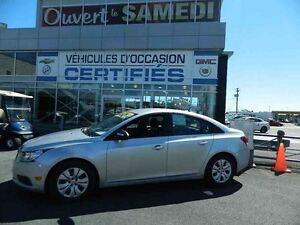 2013 Chevrolet Cruze AUTOMATIQUE + A/C SEULEMENT 46,000Km