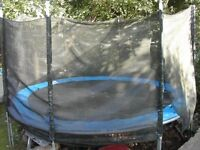 Trampoline 12 foot diameter with safety net
