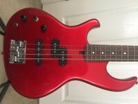 Reduced £20 for a Christmas Sale-Vintage 80's Aria Pro 2 Cat Series Left handed Bass Guitar