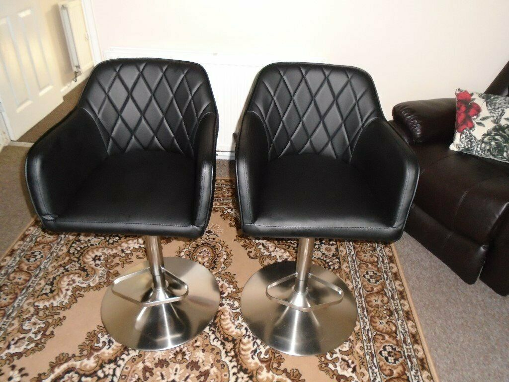 Argos Home Ellington Quilted Faux Leather Bar Stool In Weston Super Mare Somerset Gumtree