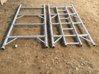 BOSS YOUNGMAN SCAFFOLD TOWER NARROW 3T FRAME ONE PAIR 4 RUNG