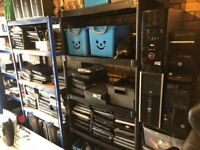 BIG Joblot Laptops Spares and Repairs HP LENOVO DELL SONY TOSHIBA ACER AND DESKTOPS CABLES