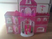 Lego megabloks barbie mansion