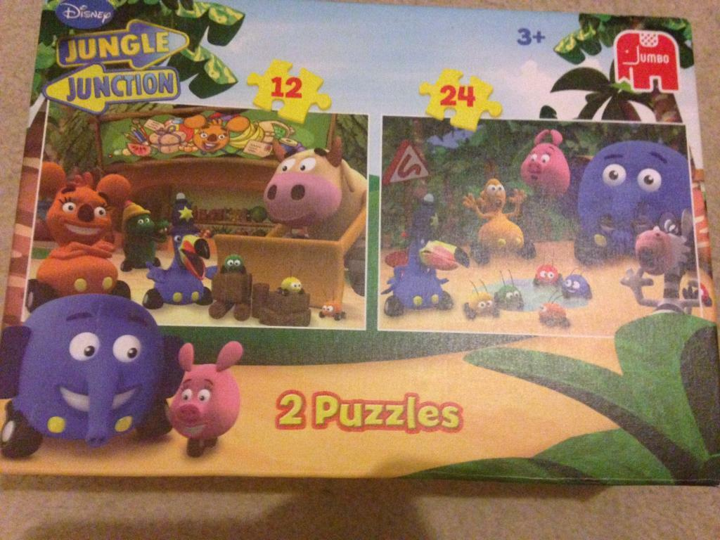 Jungle Unction Jigsaws (2 pack)