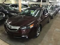 2012 Acura TL TECHNOLOGY NAVIGATION AWD LEATHER/SUNROOF