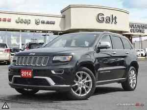 2014 Jeep Grand Cherokee SUMMIT | 8.4TOUCH TOW GRP LEATHER BLUET