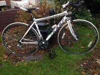 Felt N100 Z series 18 road bike,54cm lite weight frame,700c wheels,carbon forks,sora gears