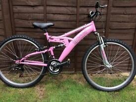Ladies / girls Trax mountain bike