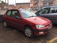 Peugeot 106 independence spares or repair