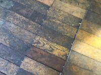 Reclaimed Oak Parquet Flooring / Two & a half yards