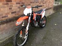 2012 ktm sxf350 motocross bike