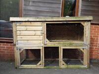 2 storey rabbit hutch £FREE