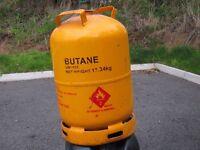Spare calor gas bottle