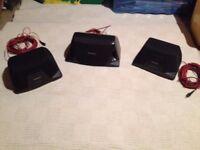 Technics surround sound speakers