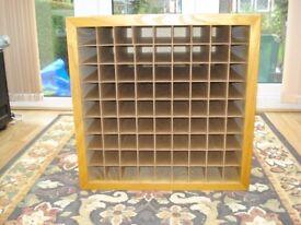 Wooden Storage - Display Box