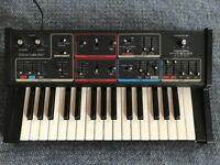 MOOG REALISTIC CONCERTMATE MG-1 VINTAGE KEYBOARD, SYNTH IN MINT CONDITION