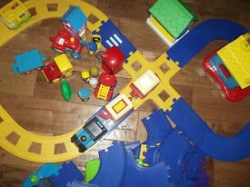 Happy lands Train, track and extras. Early Learning Centre,