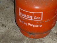 Empty Calor Gas 3.9kg gas cylinder