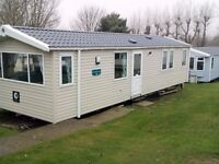 Deluxe 3 bedroom caravan rental, located in Bourne Leisure Combe Haven park in Hastings, E.Sussex