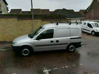 Vauxhall combo 1.3 with roof rack