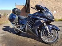 Kawasaki GTR 1400 2010. Blue (New Shape) GTR1400 - Low Mileage