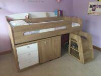 Ultimate Storage Mid Sleeper Single Bed