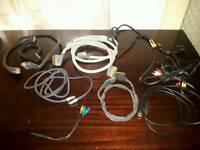 Scart and hdmi connectors and wires