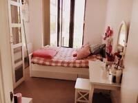 whole bedroom furniture kingsize bed,2 double wardrobe,night table,dressing table with chair
