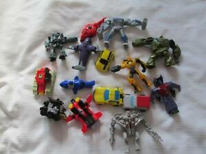 LOT 15 FIGURINES DIFFERENTES TRANSFORMERS MCDONALDS