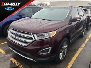 2017 Ford Edge LANE DEPART WARN, NAV, HTD STEER WHL!