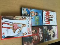 Great selection of 5 DVDs on offer