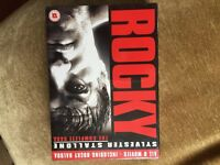 ROCKY complete saga box set (unopened)