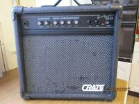 GUITAR AMP/PA SYSTEM AND POWER LEAD