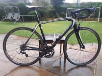 specialized tarmac sport full carbon road bike size 56