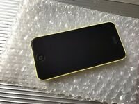 Apple iPhone 5C 16GB Yellow Factory Unlocked to any Network Average Condition