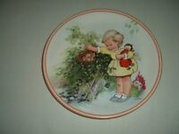 Collectors plate by Mabel Lucie Atwood.