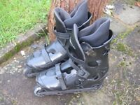 In line skates size 6/7